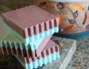 layered soap