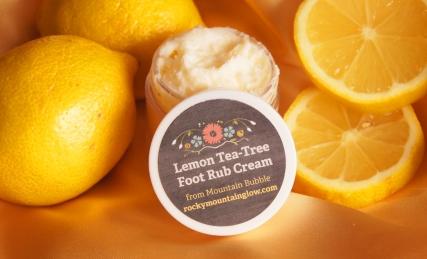 Lemon Tea Tree, a Refreshing Foot Rub!