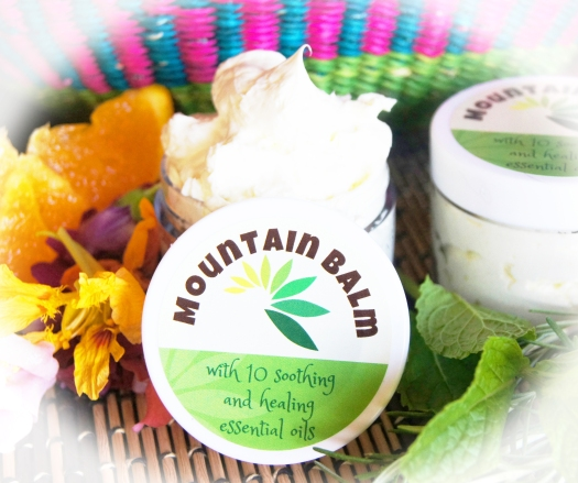 Mountain Balm with soothing and healing essential oils